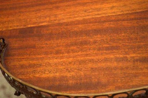 Schreibtisch  in Nierenform Frankreich ungewöhnlich schön
