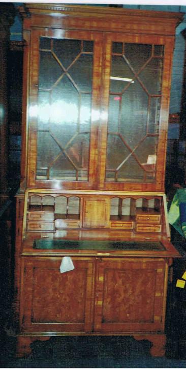 """Bureau Bookcase"" in Eibe - auch in Mahagoni erhältlich"