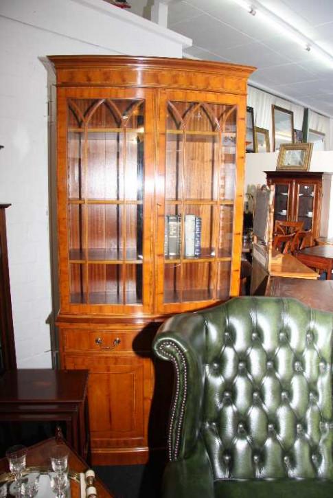 """""""Bow Two Door Bookcase"""" Bücherschrank - auch in Mahagoni erhältlich"""