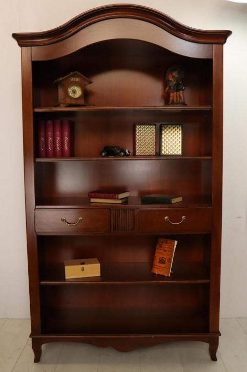 Bücherregal im Queen Anne Stil, in Mahagoni
