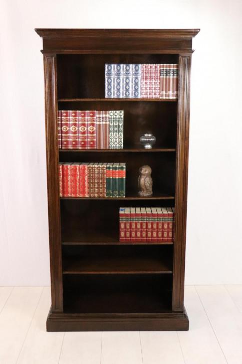 Englisches Bücherregal mit verstellbaren Böden, Eiche