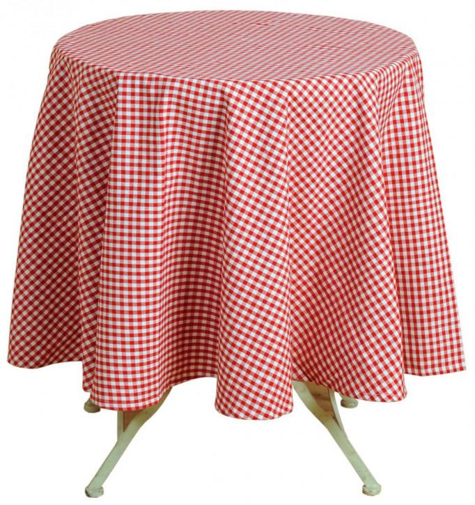 Tischdecke rot 170cm