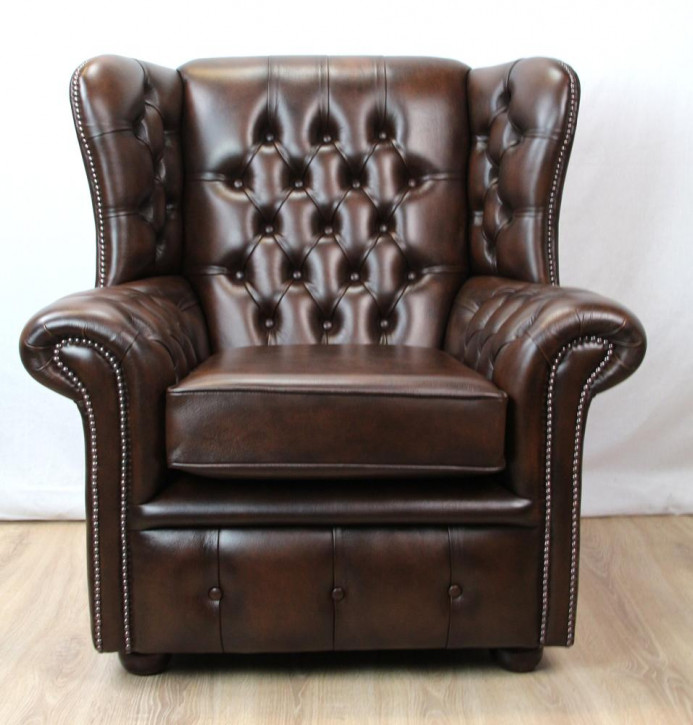 "Chesterfield Ohrensessel ""Henry chair"""