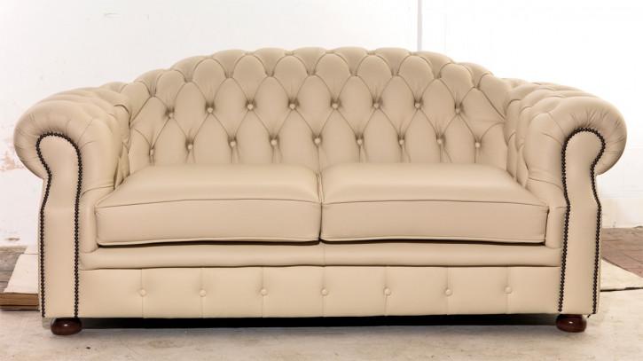 """Chesterfield Sofa """"Brighton"""" 2-Sitzer"""