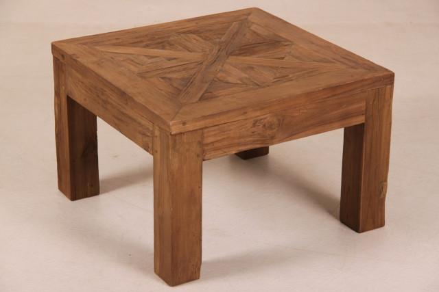 """Schöner Teak-Tisch """"Gloria"""" mit Einlage"""