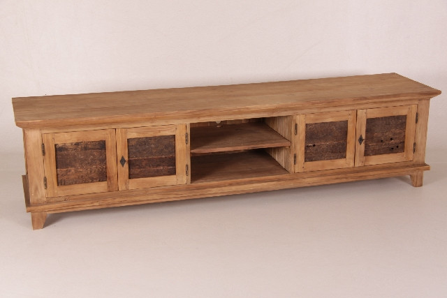 Breites Teak TV Board