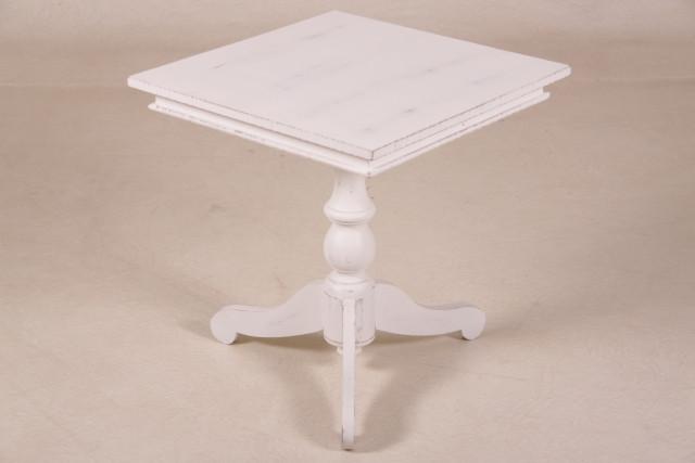 Bistrotisch weiß 55cm