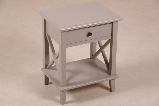 Kleiner Telefontisch mit Schublade, in 3 Farben