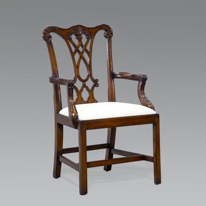 Stuhl ´Cardiff´ mit Armlehne