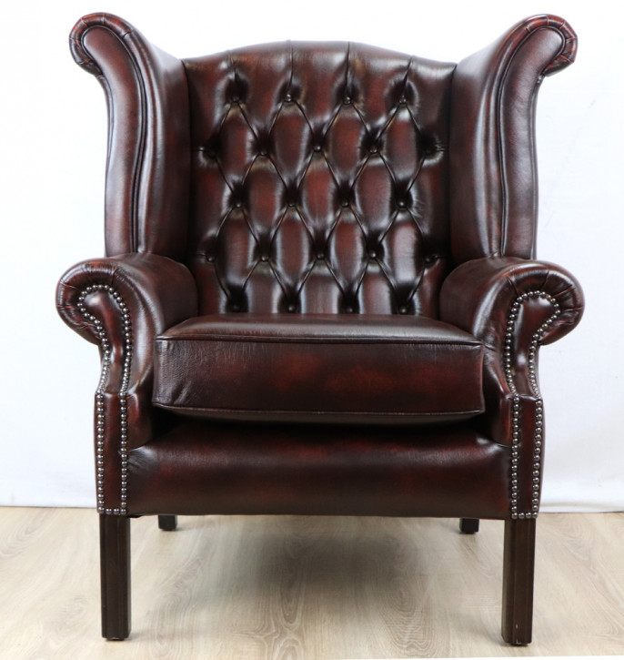 """John Wing Chair"" Chesterfield Ohrensessel"