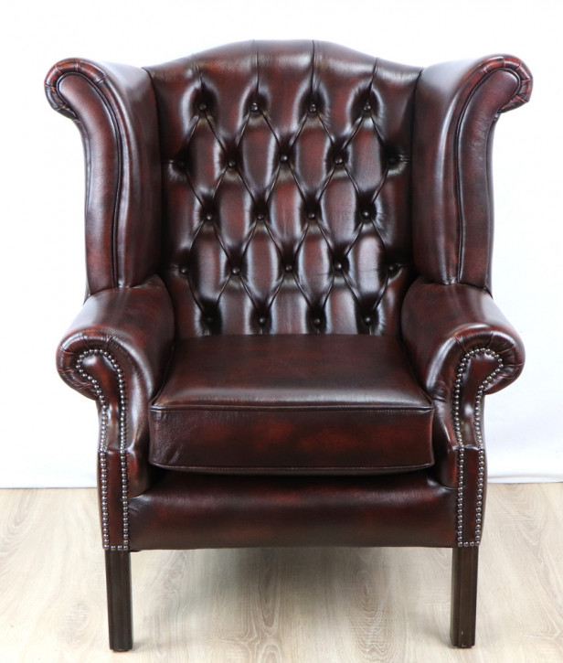 "Chesterfield Ohrensessel ""John Wing Chair"" Sofort Lieferbar"