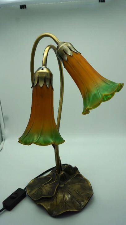 "Franz. Vintage Stehlampe ""Orange Tulip"""