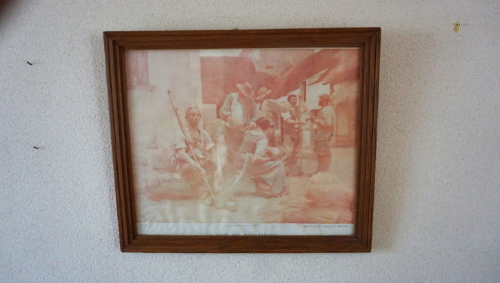 Vintage Eichenrahmen original Eiche