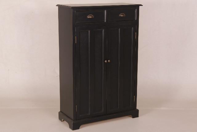 Kleiderschrank mit 2 Türen und 2 Schubladen