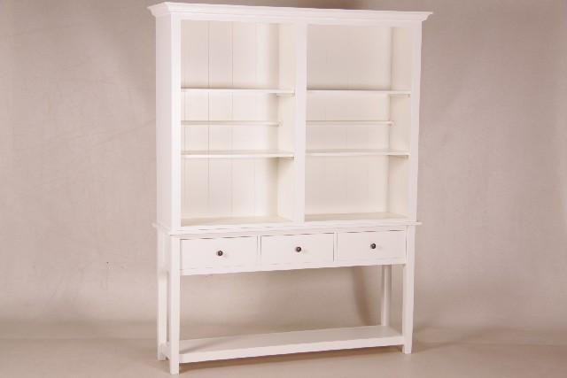 Bücherregal, offen mit 3 Schubladen