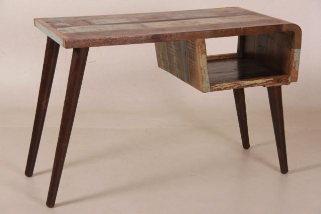 Weichholz Vintage Schreibtisch