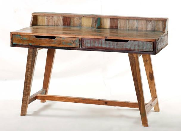 Vintage Schreibtisch mit 2 Schubladen