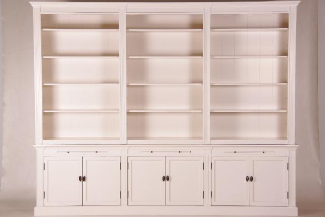 Großer Bücherschrank mit 6 Türen