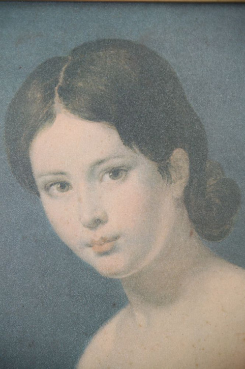 schönes altes Gemälde