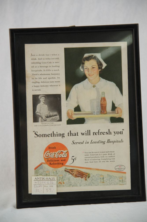 Werbebild Cola