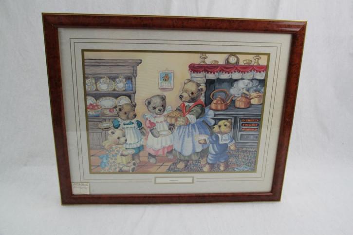 "Bild Wandbild ""Bärenfamilie"""