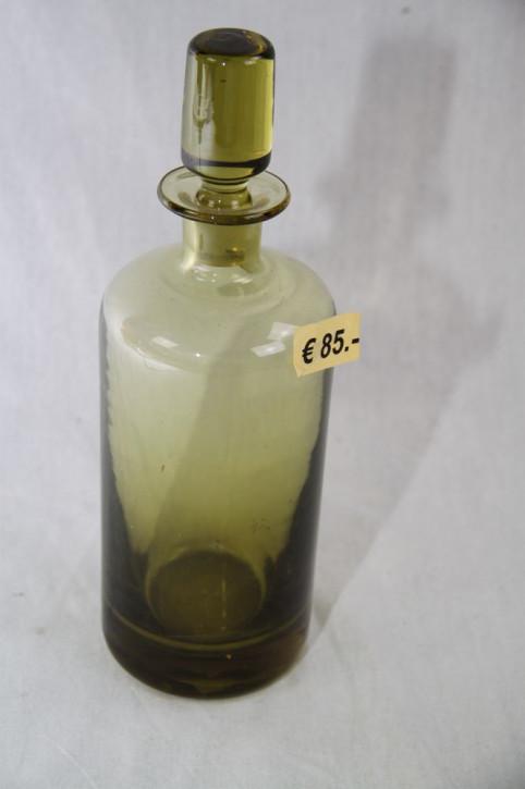 Glasflasche mit Verschluß grün Victorian