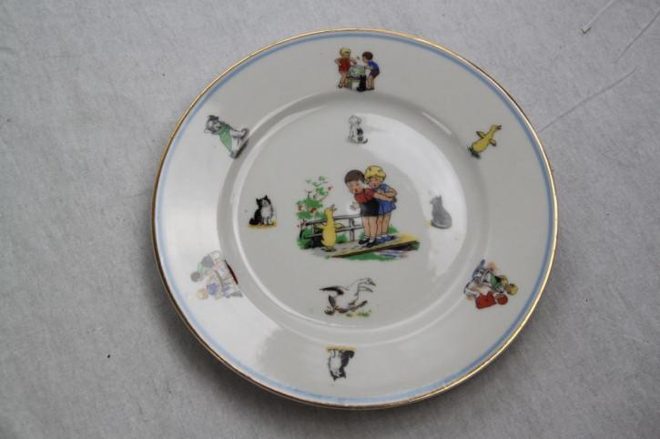 "Kinderteller von Limoges ""Ente"""