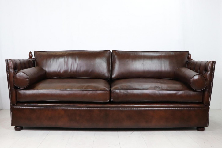 """Chesterfield Sofa """"Knoll"""" extra groß, sofort lieferbar"""