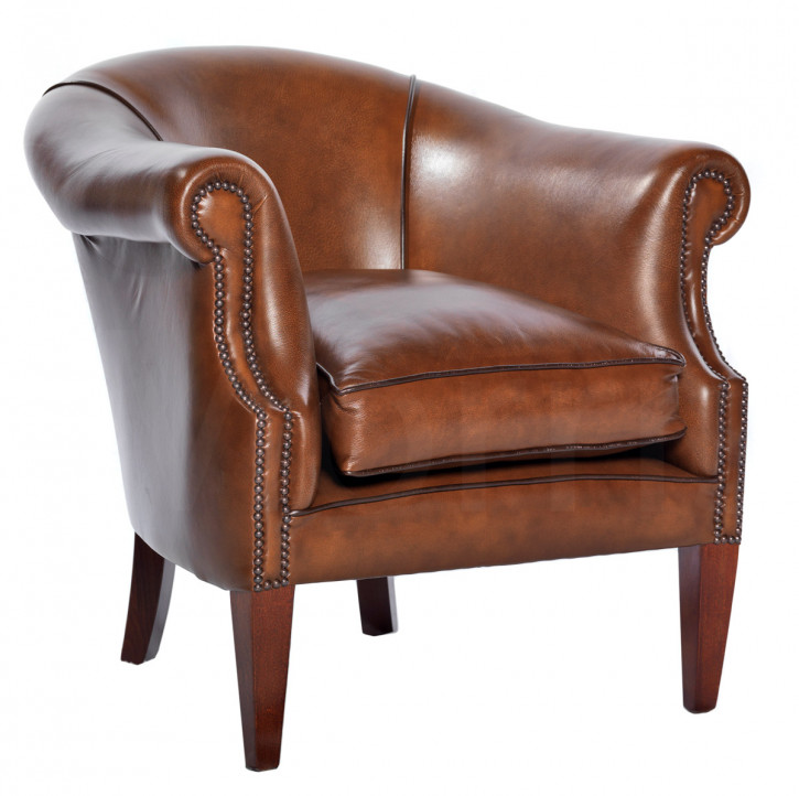 """Lord Plain Chair"" Chesterfield Sessel"