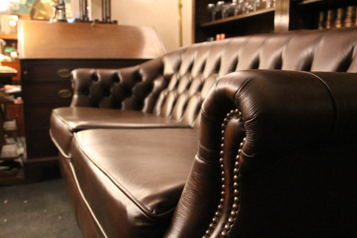 """Lord"" original Chesterfield Clubsofa 3-Sitzer"