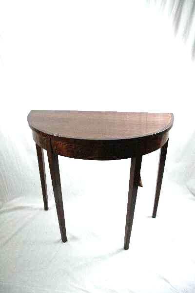 demi lune table  edwardian  1890-1910