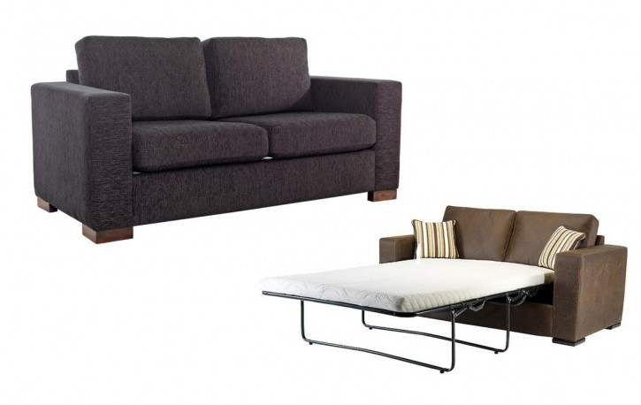 """Madrid"" Schlafsofa 3 Seater Sofabed 190cm"