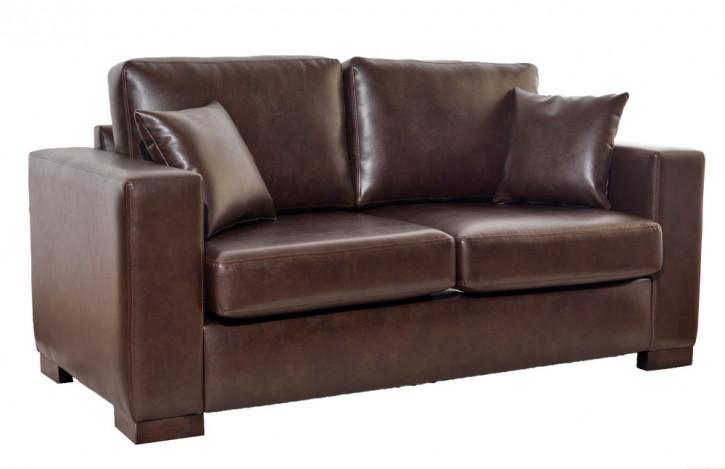 """""""Madrid"""" Original englisches Ledersofa britische Echtleder Couch"""