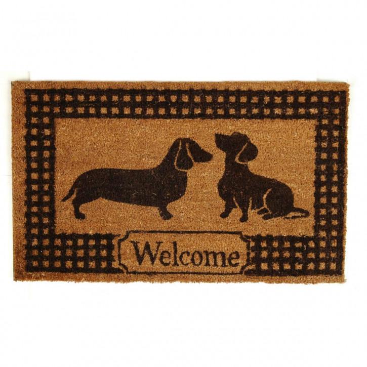 "Fußmatte ""Dogs"" 45*75cm"