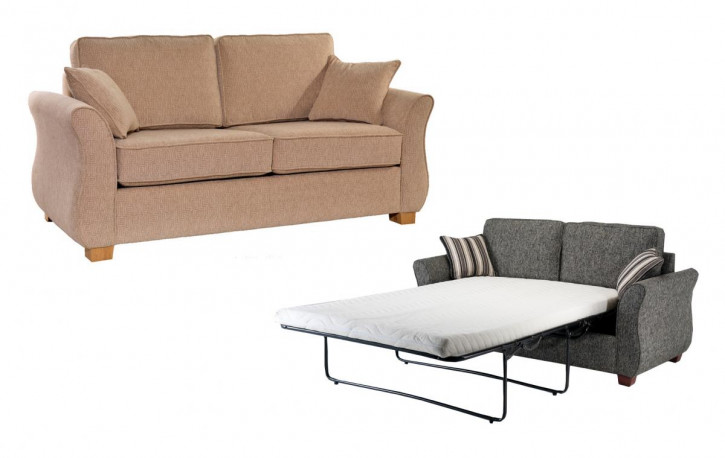 """Roma"" Schlafsofa  3 Seater Sofabed 190cm"