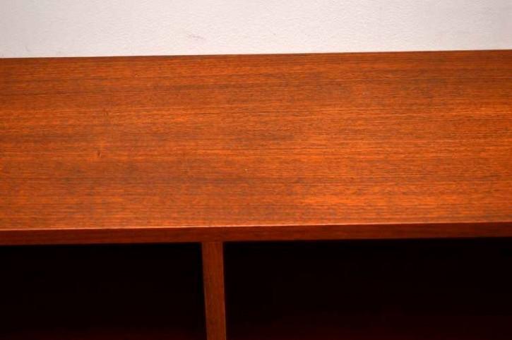 Low Open Bookcase Mahagoni