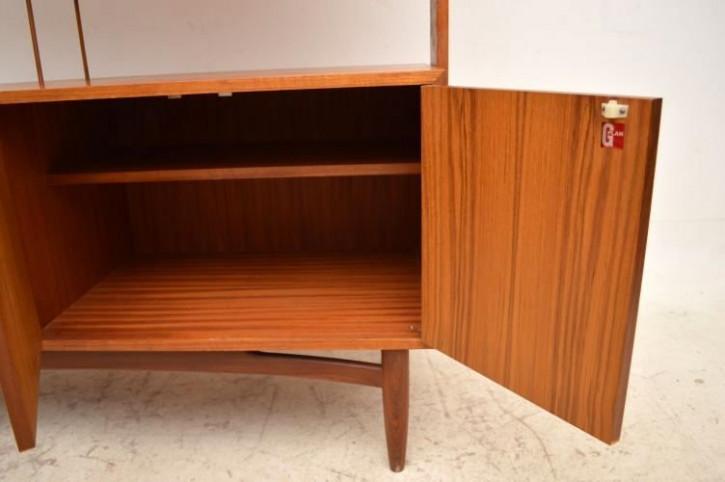 Teak Bücherreagl von G-Plan aus den 60iger Jahren