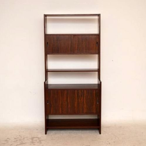 danish retro rosewood bookcase vintage 60iger jahre. Black Bedroom Furniture Sets. Home Design Ideas