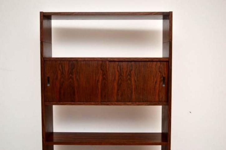 Danish Retro Rosewood Bookcase Vintage 60iger Jahre