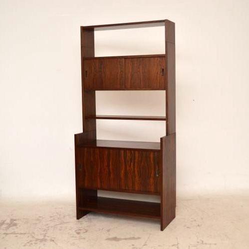 danish retro rosewood bookcase vintage 60iger jahre. Black Bedroom Furniture Sets. Home Design Ideas