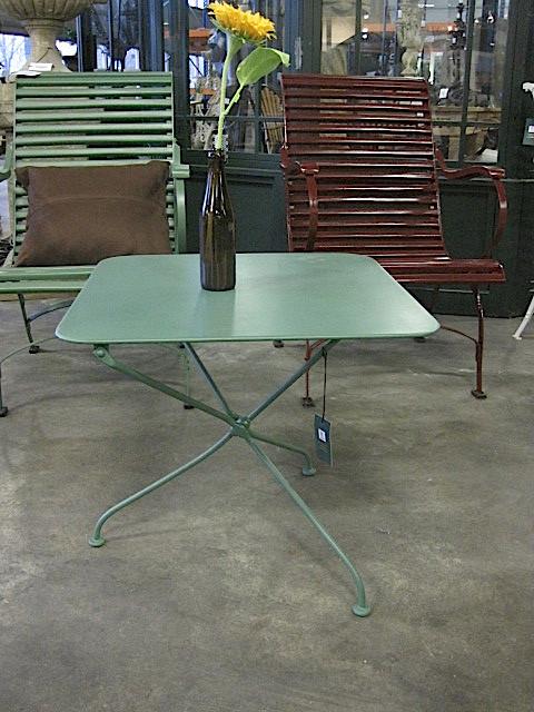 Tisch metall grau