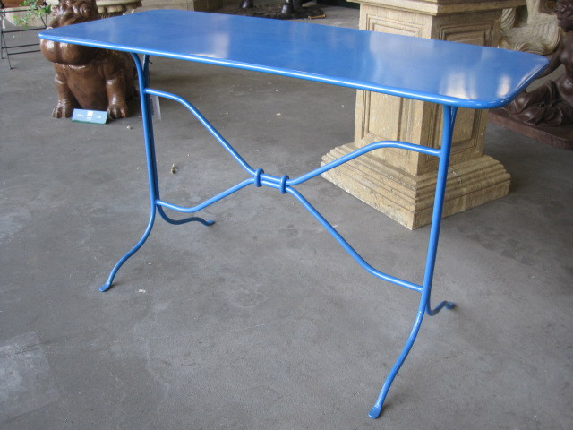 Side Table Barfleur blau