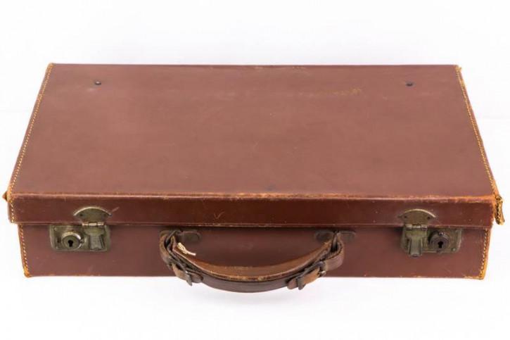 Schöner Hellbrauner Vintage Koffer, Praktischer Aktenkoffer