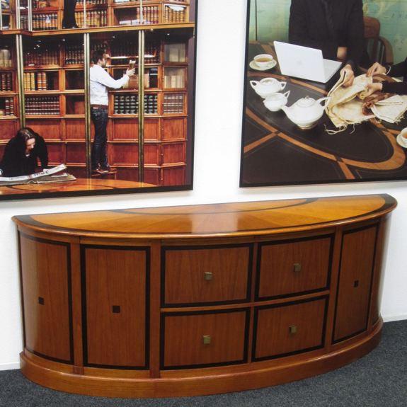 Sideboard Mahagoni Kirsch Oval
