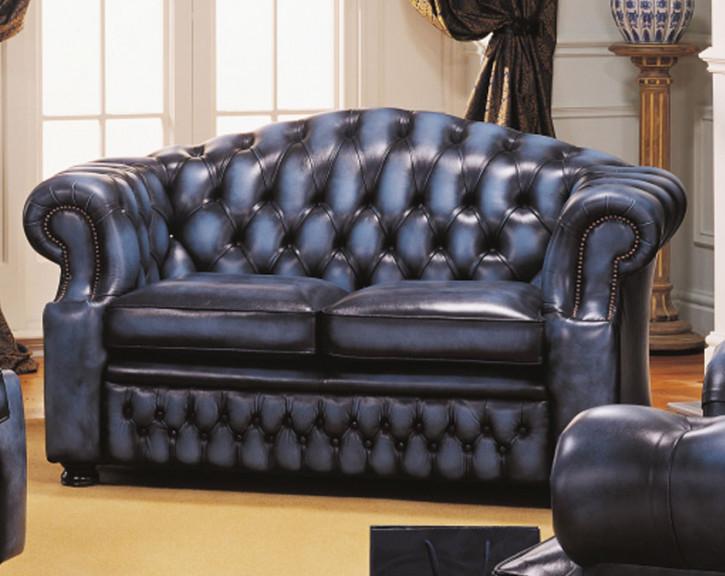"""Cheseterfield Sofa """"Hugo"""" 2-Sitzer"""