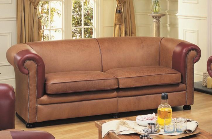 "Chesterfield Sofa ""Nathan Plain"" 2-Sitzer"
