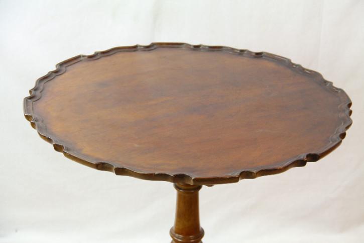 Wine Table Mahagoni massiv triport table england 1890