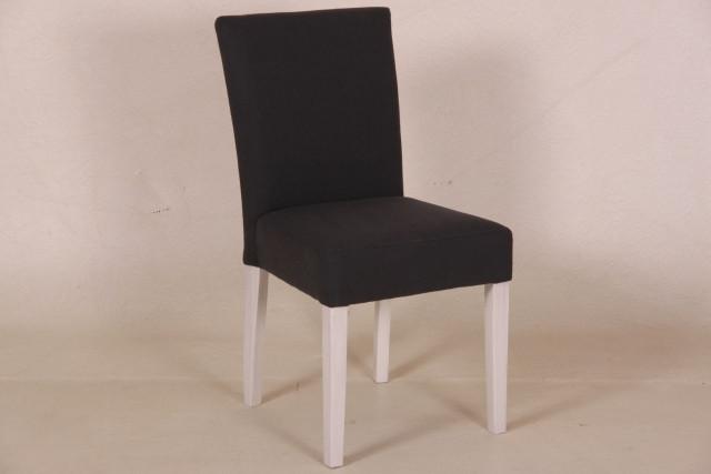 Stuhl Tania, in Leder und Stoff
