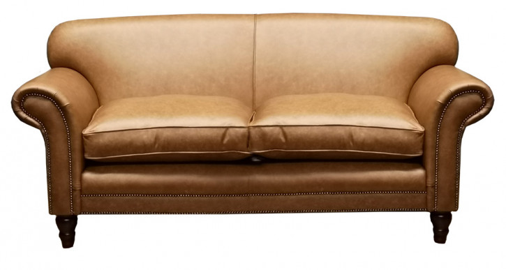 """St.Andrews""  Plain  Original Chesterfield Sofa 3-Sitzer"