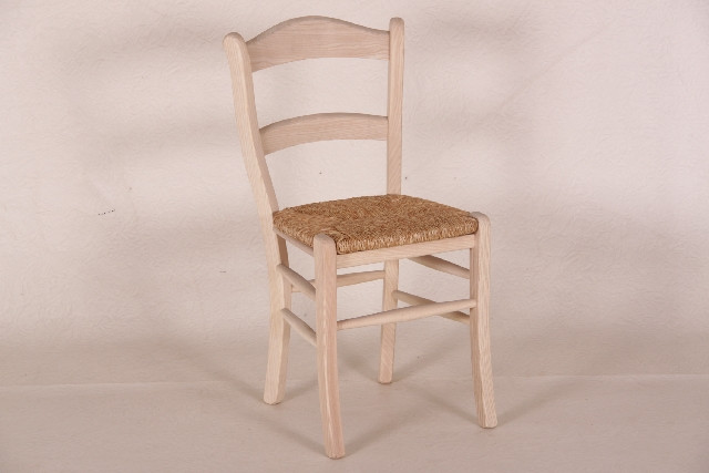 Esszimmer Stuhl aus Holz im Landhaus-Stil